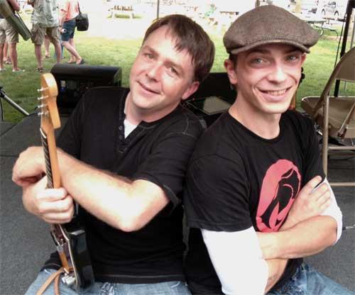 Adam McOwen and Eli Mattson