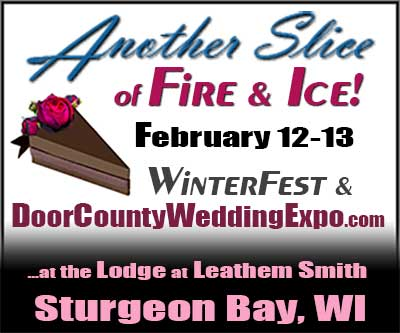 Door County Winter Wedding Expo at Leathem Smith Lodge in Sturgeon Bay