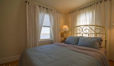One of two Bedroom at Eagle's Nest, Waterfront Suite in Door County